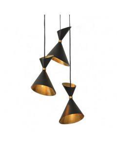 Cone Brass Pendant