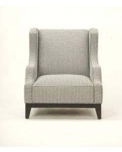 Houndstooth Custom Chair